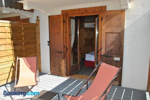 Hotel L'oustalet - Chamonix - Balcony