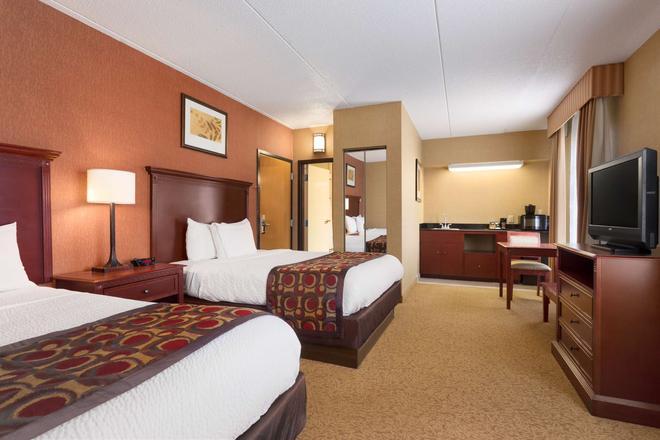 卡爾森納什維爾機場鄉村套房旅館 - 納什維爾 - 納什維爾(田納西州) - 臥室