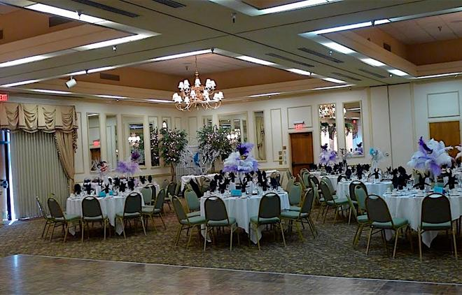 University Square Hotel - Fresno - Banquet hall