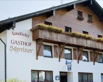 Landhotel-Gasthof-Schreiner - Hohenau - Edificio