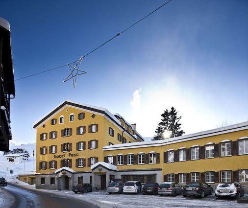 Hotel Post Bivio - Surses - Edificio