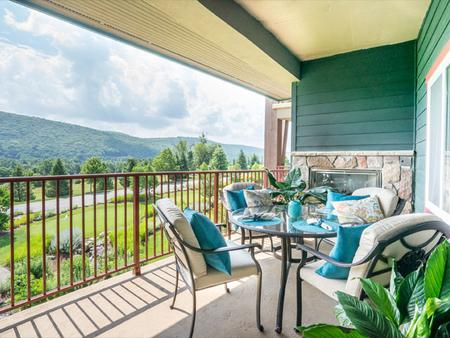Grand Cascades Lodge - Hamburg - Balcony