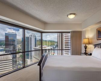 Aston at the Executive Centre Hotel - Honolulu - Bedroom