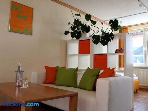 Stadtcafe Hotel Garni - Hammelburg - Living room
