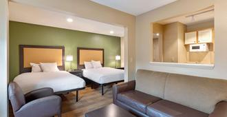 夏洛特美國長住酒店 - 泰沃拉路 - 行政公園 - 夏洛特 - 夏洛特(北卡羅來納州) - 臥室