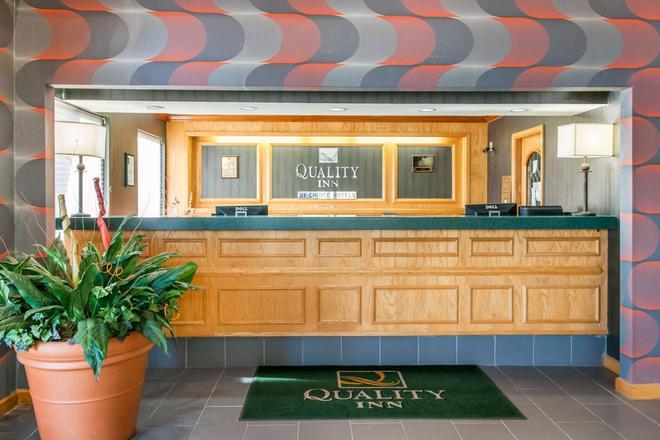 Quality Inn Seymour I-65 - Seymour - Rezeption
