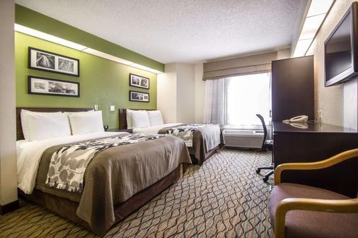 Sleep Inn Miami Airport - Miami Springs - Bedroom