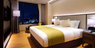 首爾龍山美居大使格蘭德飯店 - 首爾 - 臥室
