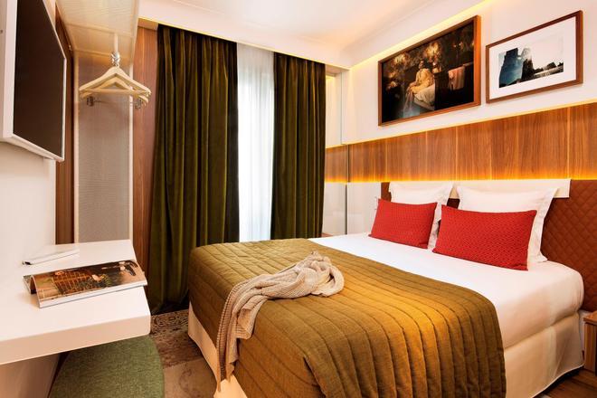 艾菲爾特倫酒店 - 巴黎 - 巴黎 - 臥室