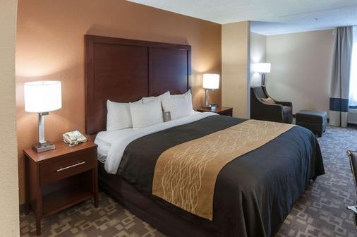 Comfort Inn Conroe - Conroe - Bedroom