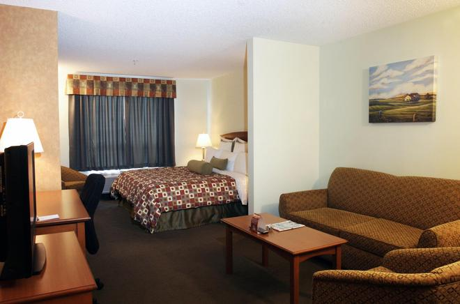 Service Plus Inns & Suites Calgary - Calgary - Bedroom