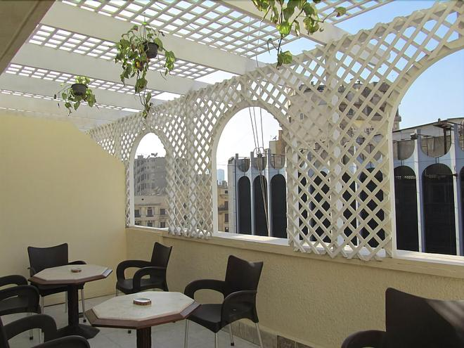 Cairo Moon Hotel - Hostel - Kairo - Patio