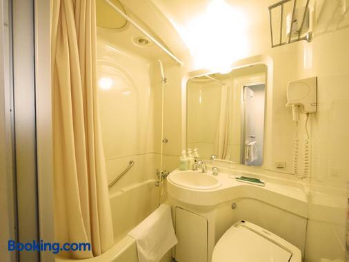 新潟縣廳南route-Inn酒店 - 新潟 - 浴室