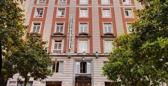 Hotel Hernán Cortés - Gijón - Edificio