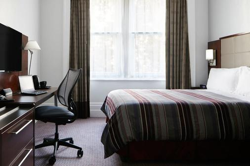 Club Quarters Hotel, Trafalgar Square - London - Bedroom