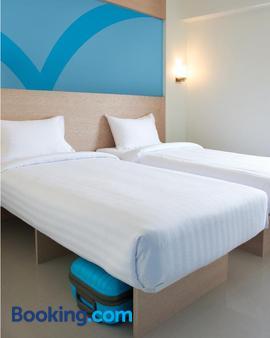 撲撲旅舍馬尼拉埃爾米塔酒店 - 馬尼拉 - 臥室