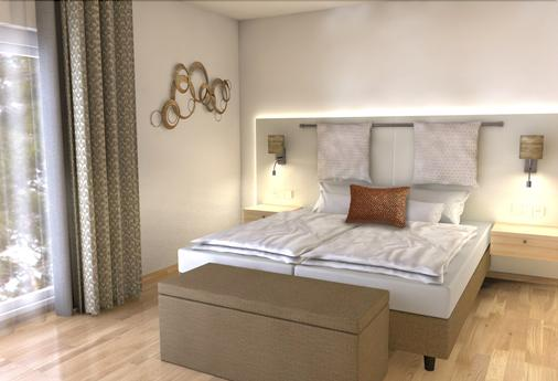 As Hotel Vital - Бад-Бевензен - Спальня