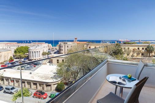 Best Western Plus Hotel Plaza - Rhodes - Balcony