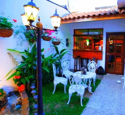 Hotel Tazumal House - Сан-Сальвадор - Патио