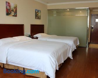 Greentree Inn Shandong Liaocheng Yanggu Huangshan Road Shizilou Express Hotel - Yanggu - Bedroom
