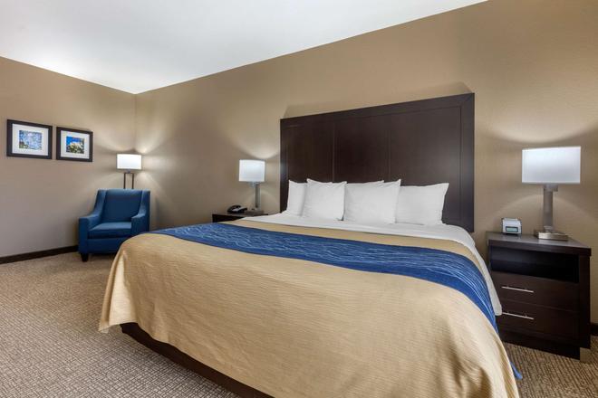 Comfort Inn and Suites North Little Rock - North Little Rock - Bedroom