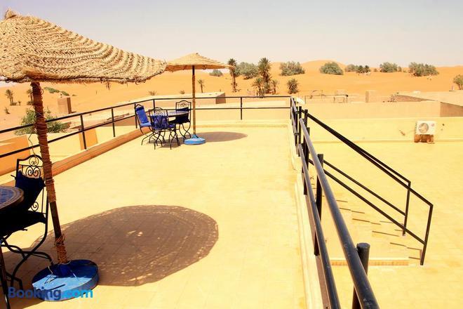Hotel Riad Ali - Merzouga - Balcony
