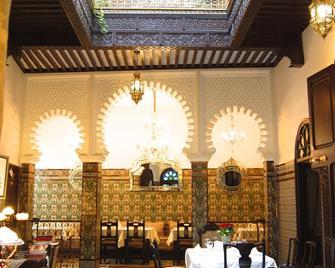 Riad El Reducto - Марина Смир - Ресторан