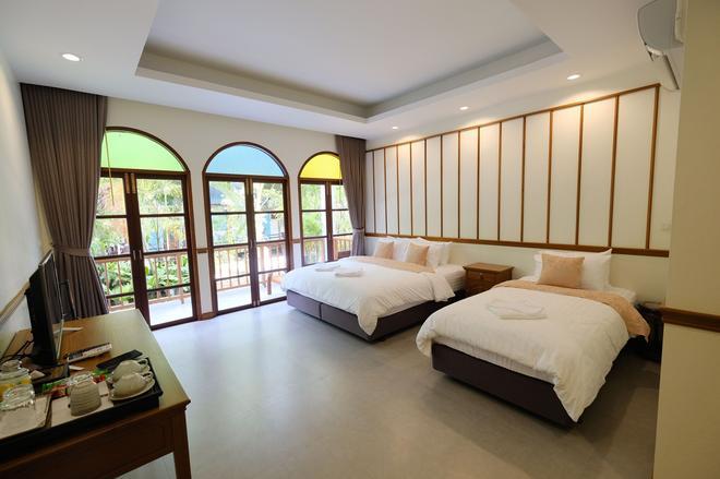 Baan Imm Sook Resort - Chanthaburi - Bedroom