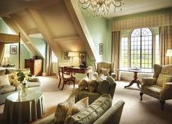 Llangoed Hall - Brecon - Sala de estar
