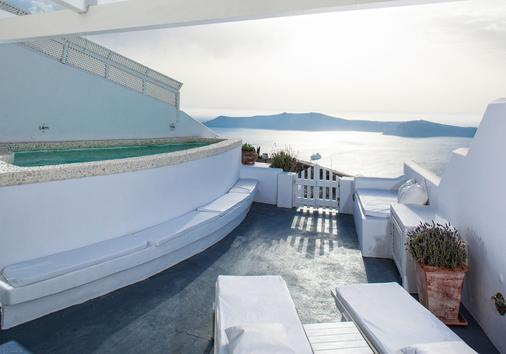 Above Blue Suites - Imerovigli - Patio