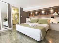 昆托坎多溫泉酒店 - 巴勒摩 - 巴勒莫 - 臥室