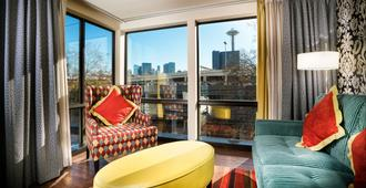Staypineapple, The Maxwell Hotel, Seattle Center Seattle - Seattle - Living room
