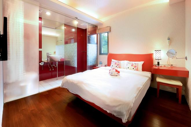 Love Home Garden Inn - Yuchi - Bedroom