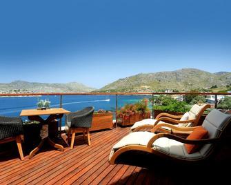 Loryma Luxury Boutique Hotel - Bozburun - Балкон