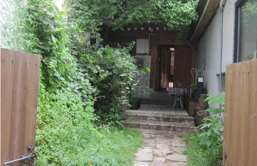 Yoo's Family Guest House - Seoul - Patio