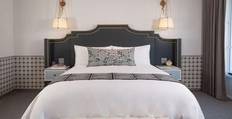 Hotel Californian - סנטה ברברה - חדר שינה