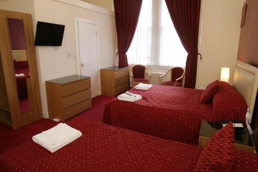 克利夫頓酒店 - 格拉斯哥 - 格拉斯哥 - 臥室
