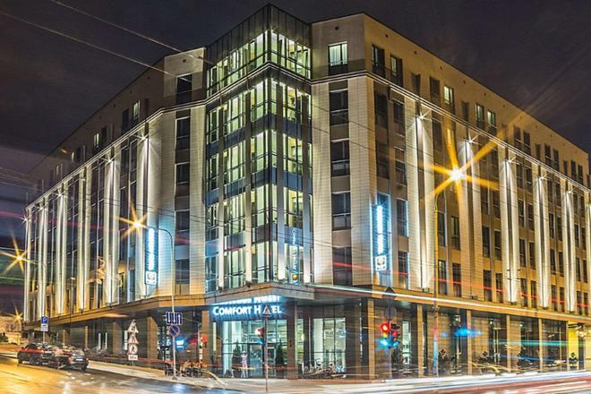 LT 舒適飯店 - 維爾紐斯 - 建築