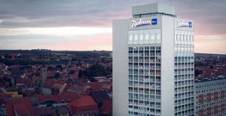 Radisson Blu Hotel, Erfurt - Érfurt - Edificio