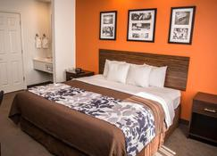 Sleep Inn & Suites at Concord Mills - Concord - Bedroom