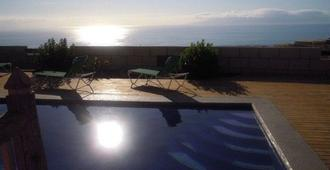 Finca for 2 to 14 people with sea view - Guía de Isora - Pool