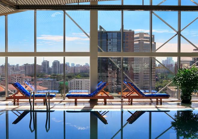 北京燕莎中心凱賓斯基飯店 - 北京 - 游泳池