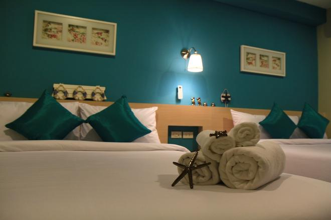 合艾 V 海洋宮殿酒店 - 合艾 - 合艾 - 臥室