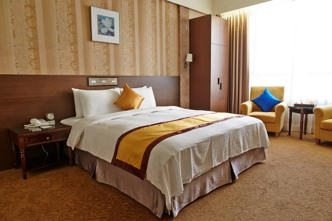 皇品國際酒店 - 嘉義市 - 臥室