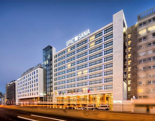 Epic Sana Lisboa Hotel - Lissabon - Rakennus