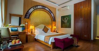 Vong Xua Hotel - Hanoi - Schlafzimmer