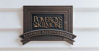 Pomeroy's on Kilmore - Christchurch - Zimmerausstattung