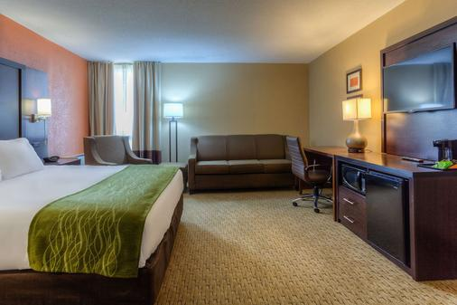 Comfort Inn & Suites Evansvile Airport - Evansville - Bedroom