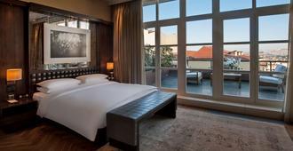 伊斯坦布爾馬其卡宮柏悅酒店 - 伊斯坦堡 - 臥室