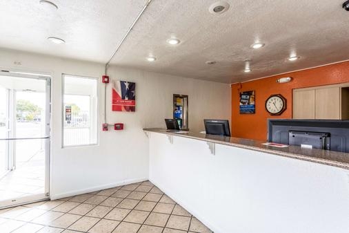 Motel 6 Albuquerque Northeast - Alburquerque - Recepción